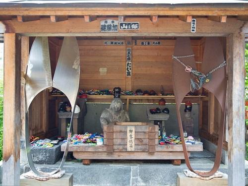 橋場のばんば(縁切り・縁結び)の神様 福島県檜枝岐の舞台 南会津