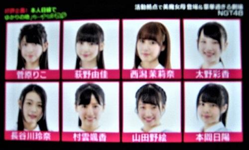 バズリズムにNGT48が出演