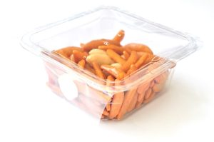 宇宙日本食 専用パックに入った亀田の柿の種