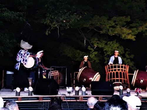 竹あかり 平和の祈り 新潟県・弥彦村