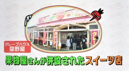 びっくりパフェ クレープハウス星野屋(新潟県小千谷市)にいがったフレンド