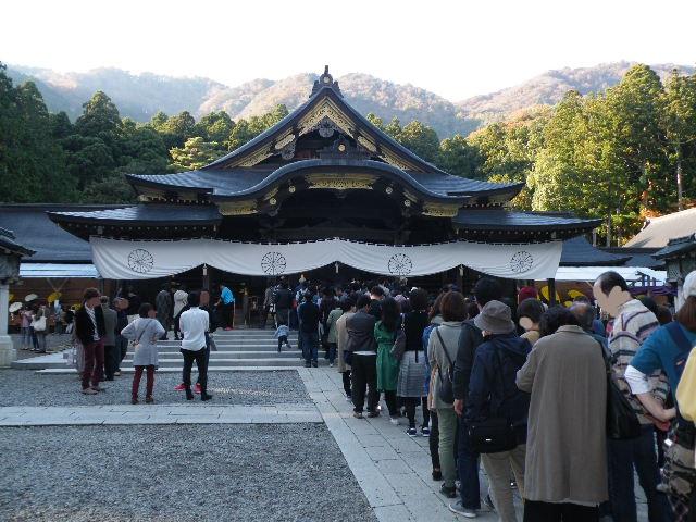 弥彦神社 菊まつり 2017年