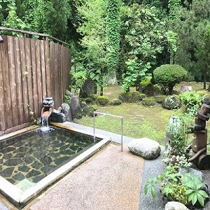広田温泉 奥の湯 湯元館 日帰り入浴 露天風呂