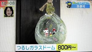 タクグラス 弥彦村 ガラス雑貨店 つるしガラスドーム 種類 ホームページ