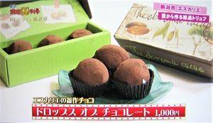 新潟市東区 エスカリエの新作チョコ ドロップス オブ チョコレート バレンタイン