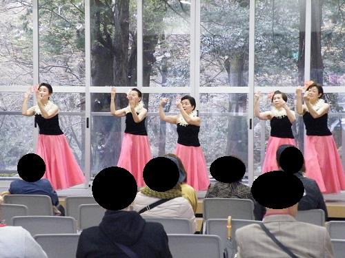 フラダンス・弥彦村 桜まつり いいね新潟