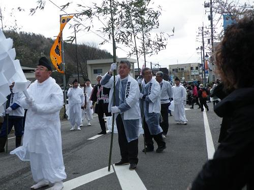 弥彦村・湯かけまつり 2018年