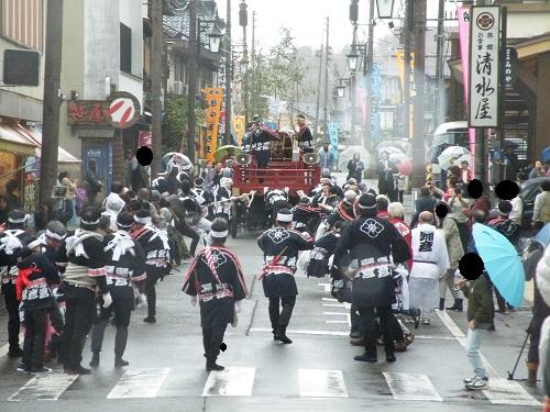 2018年4月17日 湯かけ祭り 弥彦村・弥彦神社