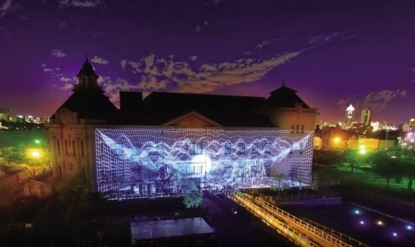 みなと新潟 光の響演2018年9月14日から17日まで開催