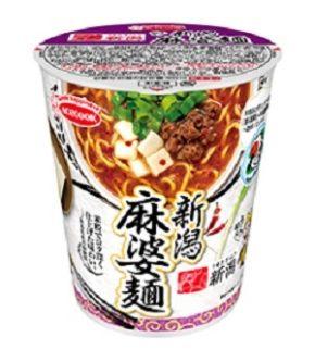 まるしん監修「うまさぎっしり新潟 うんめぇ 新潟麻婆麺」カップ麺が発売