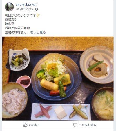 阿賀野市ランチ・カフェ 木いちご 人生の楽園 新潟
