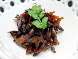 新潟県見附市の郷土料理 メダカの佃煮「うるめの田舎煮」通販・お取り寄せ