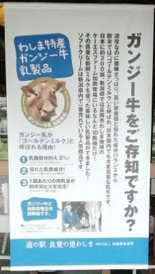 道の駅 良寛の里わしま(新潟県長岡市・和島)ガンジーソフトクリームが美味い