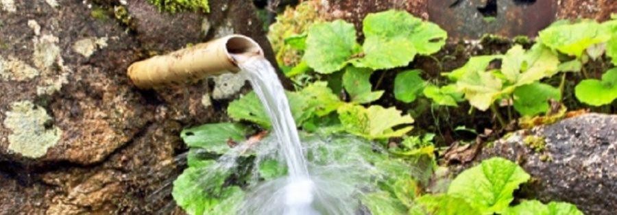新潟県三条市の湧水・清水 下田の名水マップ 嵐渓荘ひこぜんランチ