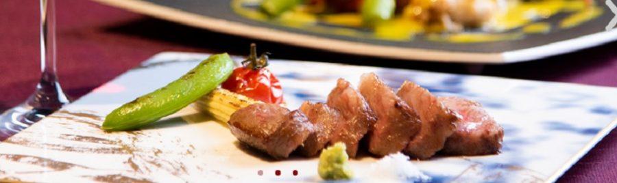 新潟贅沢ランチ(古町)寿司と和牛ステーキのセット
