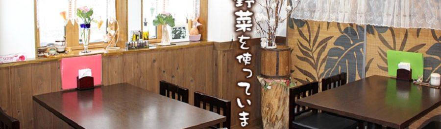 農家レストラン食彩氣楽のランチ おにぎりコロッケ定食 新潟市北区
