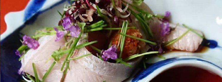 新潟県村上市坂町にある和食店「旬菜懐石 拓」髪型も料理も個性的の絶品料理