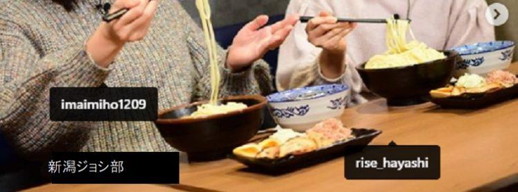 麺の風 祥気 今井美穂さん、林莉世さんが新潟ジョシ部で来店 長岡市ラーメン