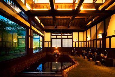 貝掛温泉の内風呂・大浴場 新潟県湯沢の温泉宿