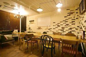 CASUAL DINING EU Cafe 長岡店の店内の様子 予約・結婚式二次会・宴会・イベント