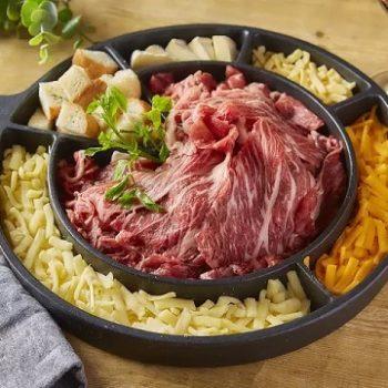 肉しゃぶチーズフォンデュ 4種のチーズ 五二〇 GOTTSO ごっつぉ 長岡市東坂之上町の居酒屋