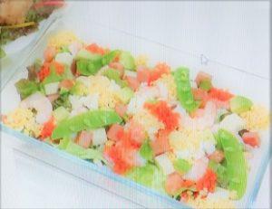 村山瑛子さん考案レシピ ミモザ洋風ちらし寿司