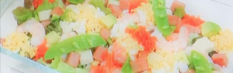 ミモザ洋風ちらし寿司 村山瑛子さん考案レシピ ひな祭り