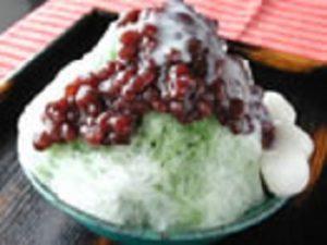 貴餅 かき氷 宇治みるく金時 新潟市西区坂井東のかき氷店