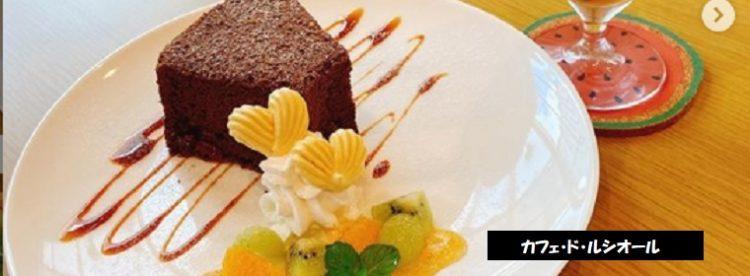 村上市でシフォンケーキが美味しいカフェ・ド・ルシオール 新潟スイーツ