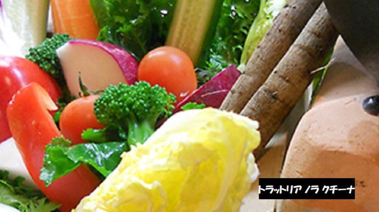 豊栄野菜バーニャカウダ イタリアンレストラン トラットリア ノラ クチーナ 新潟市北区葛塚