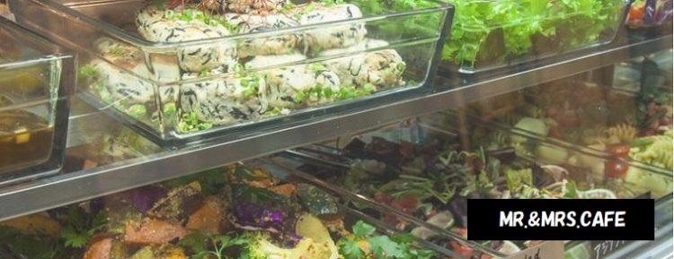 多彩なデリのランチ MR.&MRS.CAFE ミスターアンドミセスカフェ 新潟市中央区万代