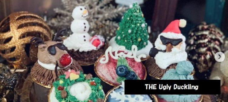 かわいいキャラクターのカップケーキ THE Ugly Duckling 新潟・三条市