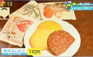 みつもと菓子店 名菓 黒埼よいとこ お土産におすすめ 茶菓子 新潟市西区大野町