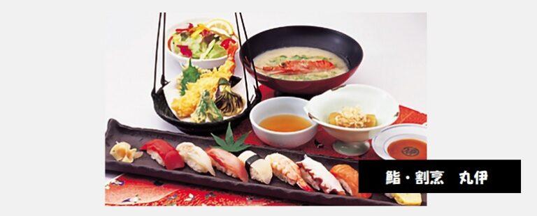 鮨・割烹 丸伊の豪華寿司と天ぷらランチ 新潟市中央区東堀通