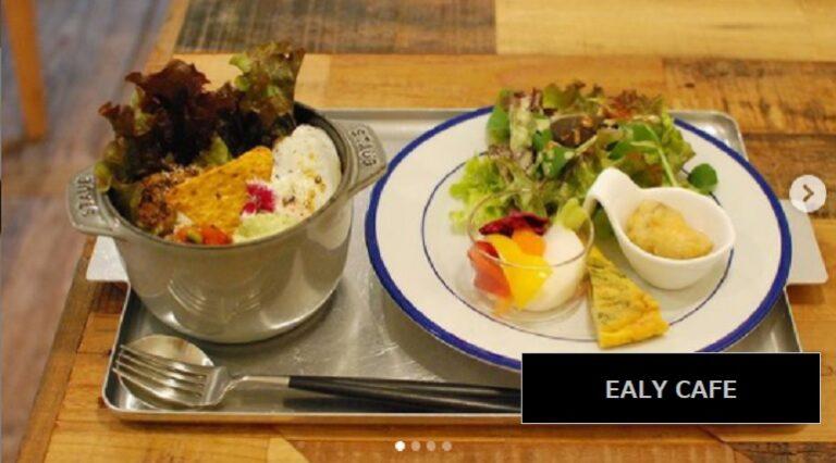 小清水集落の美しい景色を見ながらランチが食べられるお店 EALY CAFE コーヒーも人気 新潟県柏崎市石曽根
