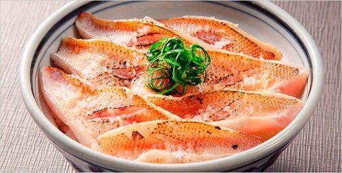 せっかくグルメ 新潟の寿司店 のどぐろ丼 せかい鮨 新潟市中央区沼垂東