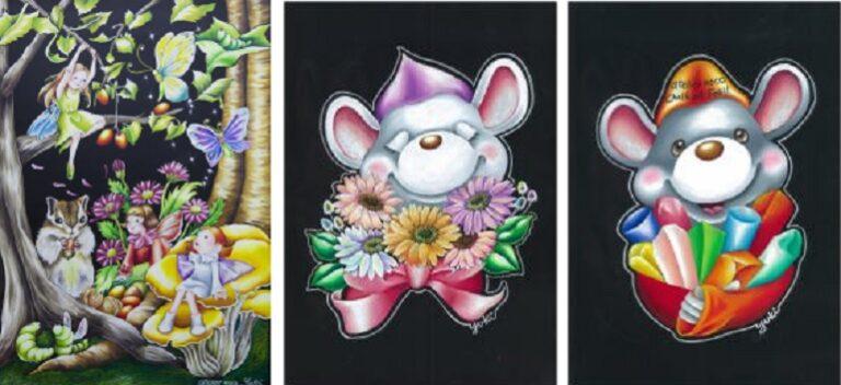 チョークアートの看板の製作・販売・スクール atelier noco 新潟市江南区