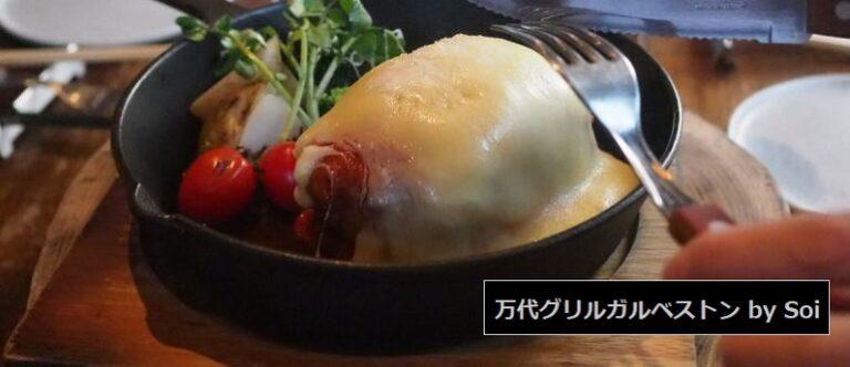 とろーりラクレットチーズBIGハンバーグが食べられるお店 万代グリルガルベストン by Soi 新潟市中央区弁天