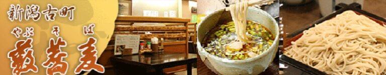 新潟古町にある二八そばを今に伝える老舗蕎麦屋 藪蕎麦の人気メニュー鳥辛そば