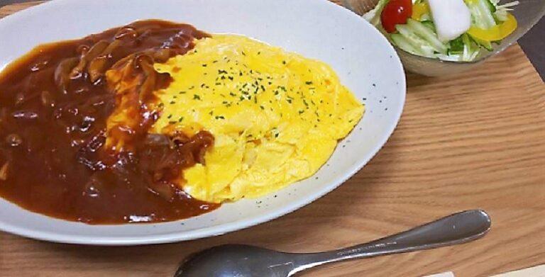 ワンコインランチが食べられるお店 オムハヤシライス、トマトリゾットなど よりみちカフェ 新潟県柏崎市