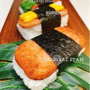 ハワイのおむすび スパムむすび販売 Yum Yum Kitchen 新潟市西区寺尾