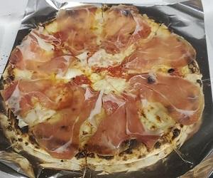 イタリア パルマ産生ハムのピッツァ(ピザ)トラットリア レ・アーリ 小千谷市
