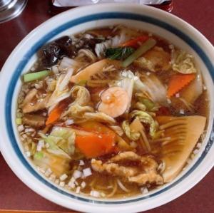 三宝亭の五目うま煮麺が食べられる麺食房わたなべ 新潟市秋葉区